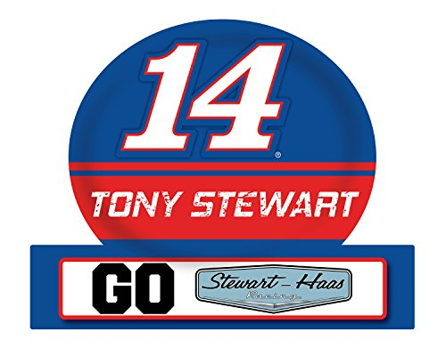 (NASCAR #14 Tony Stewart Jumbo Tailgate Magnet-NEW for 2016)