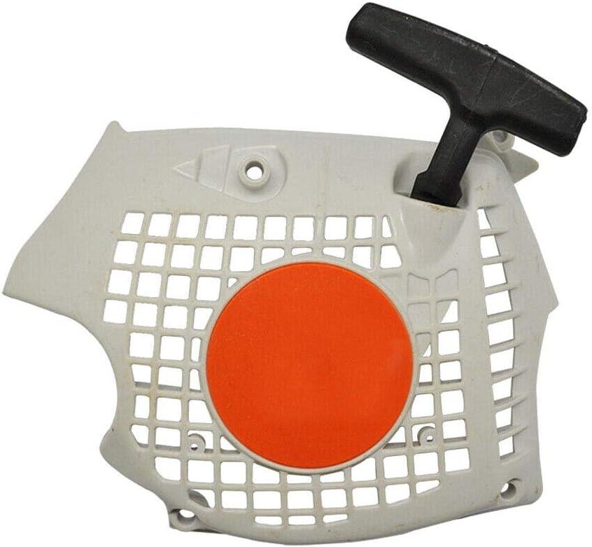 WANWU - Tirador de Arranque para Motosierra Stihl MS181 MS211 MS171 Pieza de Repuesto 139-080-2102