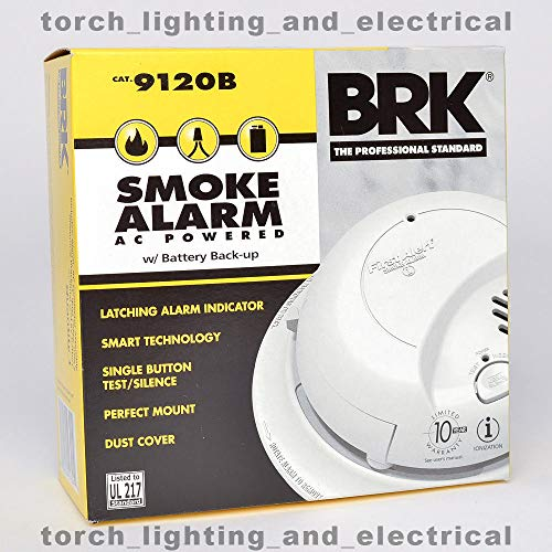 BRK 6-Pack 9120B First Alert Smoke Alarm Detector Battery Ba