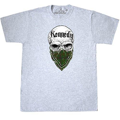 Tartan Bandit T-Shirt X-Large Ash Grey (Kennedy Ash Grey T-shirt)