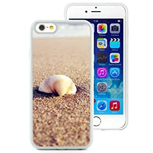 New Beautiful Custom Designed Cover Case For iPhone 6 4.7 Inch TPU With Sea Shell On The Beach (2) Phone Case