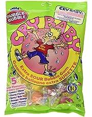 Dubble Bubble Cry Baby Extra Sour Bubble Gum 113 g (Pkg of 3)