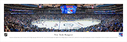 Center Ice - New York Rangers - Center Ice - Blakeway Panoramas Unframed NHL Posters
