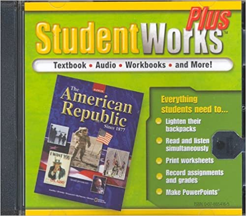 Counting Number worksheets free us history worksheets : The American Republic Since 1877, StudentWorks Plus CD-ROM (U.S. ...