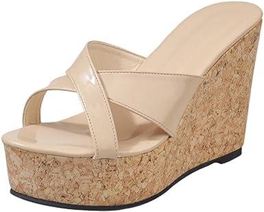 Women Ladies wedge heeled slingback sandals handmade Burgundy and gold Black
