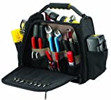 Custom Leathercraft 1574 Open-and-Closed-Top Tool Carrier, 30-Pocket