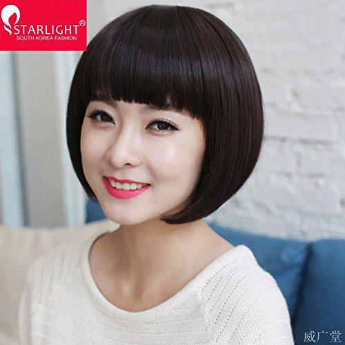 Amazon.com : Ms. wig wig short hair black