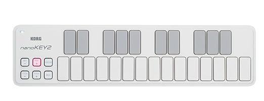 12 opinioni per Korg Nanokey 2, Tastiera USB, Bianco, 25