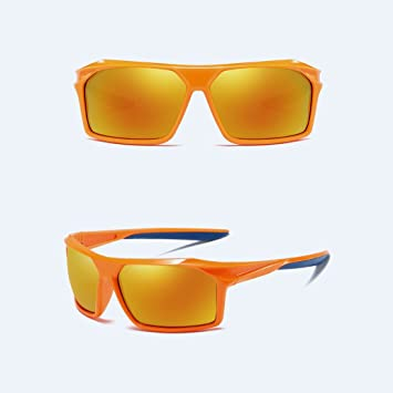 Z&HA Gafas De Sol con Lentes Polarizados Hombres Al Aire Libre Deportes Deportes Polarización Bicis Carreras