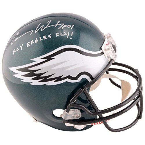 - CARSON WENTZ Philadelphia Eagles Autographed Riddell Replica Helmet with