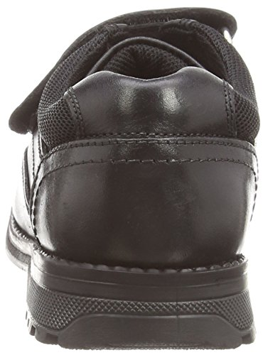 Hush Puppies Arrow Jnr, Jungen Slipper Schwarz (Black)