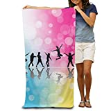 Super Absorbent Beach Towel Like Dance Polyester Velvet Beach Towels 31.551.2 Inch