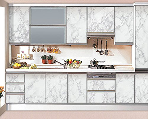amao grey granite look marble effect contact paper film With best brand of paint for kitchen cabinets with bluetooth tracker sticker