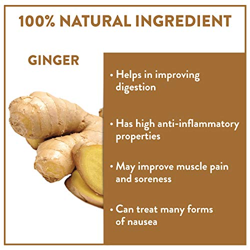 Amazon.com : Nilgiri Ginger Green Tea, 10 Teabags | Supports Weight Loss & Digestion | 100% Natural Ginger with Whole Leaf Green Tea | No additives ...