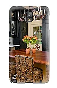 ZippyDoritEduard TZisWuJ4281GZhEj Case For Galaxy Note 3 With Nice Kitchen With Black Cabinets And Cream Island Amp Pot Rack Appearance