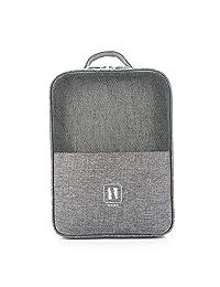 Práctica bolsa de viaje para zapatos con cierre, impermeable, bolsa de almacenamiento para zapatos