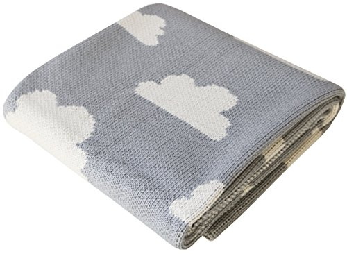 cotton-knitted-stroller-nursery-baby-blanket-fluffy-clouds-design-heather-grey-30x40-inches