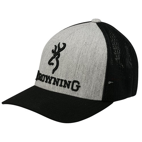Browning 308375692 Cap, Heather, Size - Hunting Hats Browning