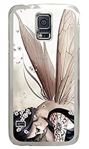 Anime Butterfly Elves Clear Hard Case Cover Skin For Samsung Galaxy S5 I9600