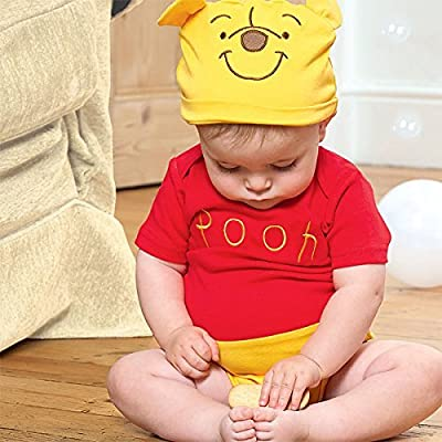 Disney Baby Winnie the Pooh Bodysuit Vest Toddler Babies Costume