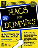 Macs for Dummies, David Pogue, 0764503987