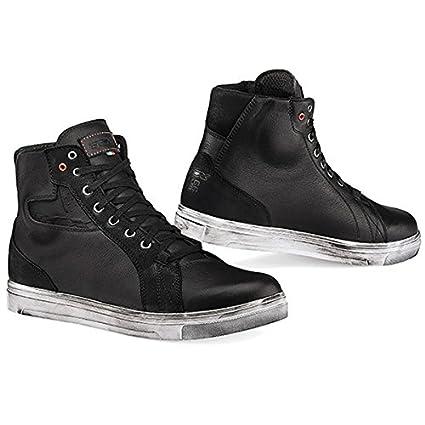 0e5e7ace18aa1 TCX Street Ace Waterproof Men's Street Motorcycle Shoes - Black / 38