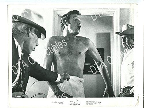 MOVIE PHOTO: POCKET MONEY-1972-8X10 PROMO STILL-PAUL NEWMAN-LEE MARVIN-WESTERN-COMEDY VG/FN
