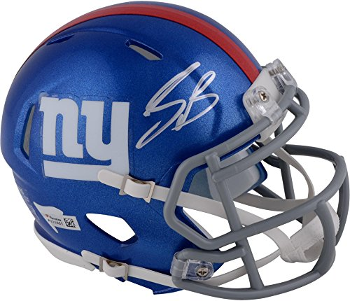 Saquon Barkley New York Giants Autographed Speed Mini Helmet