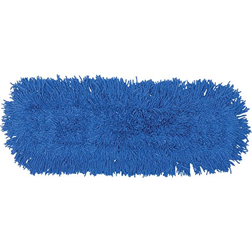 Rubbermaid Commercial FGJ35700BL00 Twisted Loop Dust Mop, Synthetic, 48-inch, Blue