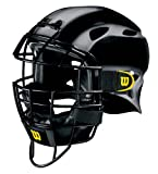 Wilson Youth 2-Tone EZ Gear Catcher's Mask (Silver/Black)