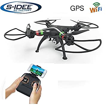 Dron cuadricóptero, GPS, WiFi, cámara HD, estabilización de altura ...
