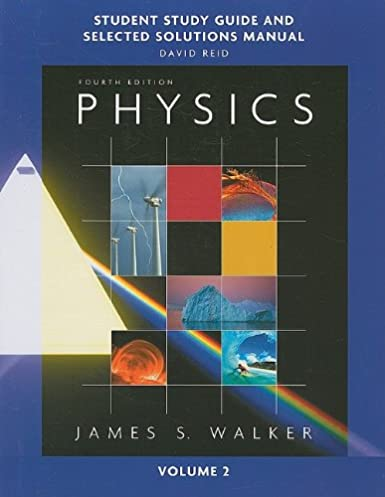 amazon com study guide and selected solutions manual for physics rh amazon com Physical Science Solutions Temperature Physics