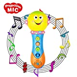 6-18 Months Baby Toys, Toy Microphone for 1-3 Year Old Baby Boy Girl