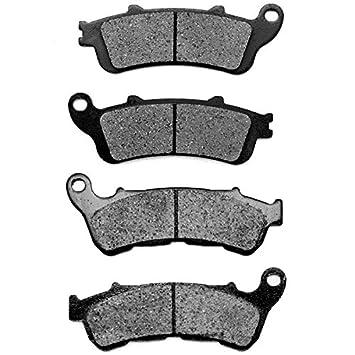 Non-Metallic Organic NAO Brake Pads Set Rear Brake Pads for 2011 CAN AM Commander 1000 XT KMG Front