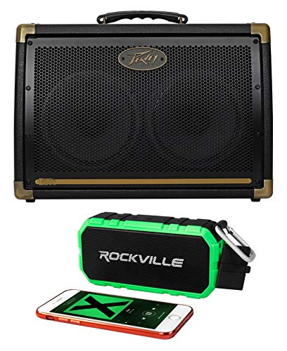 Watt 30 Amplifier Combo (Peavey Ecoustic E208 Acoustic Guitar Amplifier Combo Amp+Bluetooth Speaker)