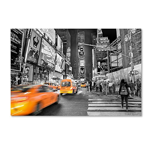 Times Square by David Ayash Hanging Art Piece, 16
