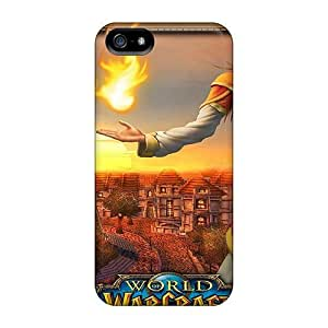 Case Cover Protector For Iphone 5/5s World Of Warcraft Girl Case