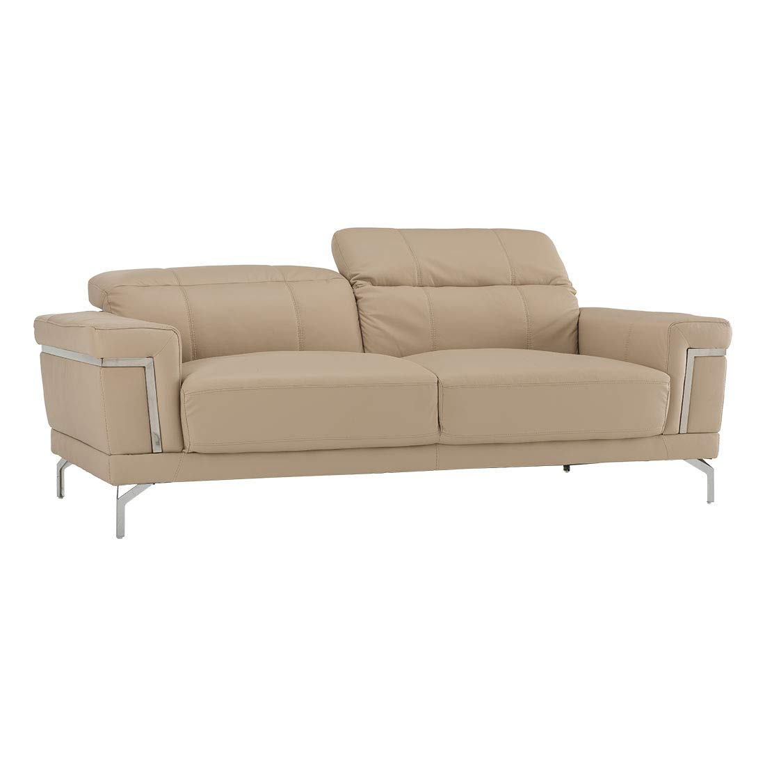 Terrific Durian Marcus Three Seater Sectional Sofa Beige Amazon In Evergreenethics Interior Chair Design Evergreenethicsorg
