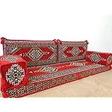arabic sofa,arabic floor sofa,floor seating,arabic floor seating,arabic cushions,floor sofa,oriental seating,furniture,majlis,jalsa - MA 99