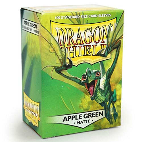 Dragon Shield Sleeves Matte Apple Card Game, Green - - Matte Green