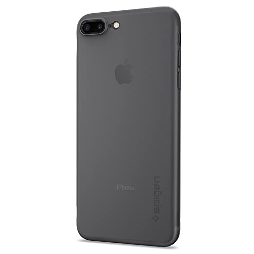 80 opinioni per Cover iPhone 7 Plus, Spigen [Ultra-Thin] Air Skin [Black] Premium