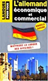 Image de L'allemand économique et commercial : 20 dossiers sur la langue des affaires