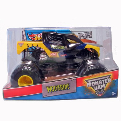 Hot Wheels Monster Jam: Max-D Wolverine Die Cast Truck