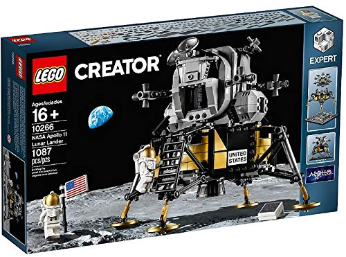 Lego Creator NASA Apollo 11 Lunar Lander Set 10266 New with ()