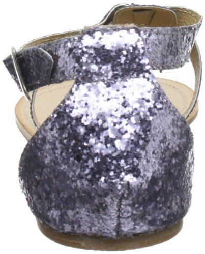 Black Lily cecilia glitter sandal - Sandalias mujer azul - Blau (glitter)