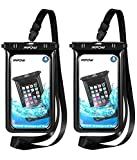 Mpow Upgraded Floating Waterproof Phone Pouch, IPX8 Waterproof Case Underwater New Type TPU