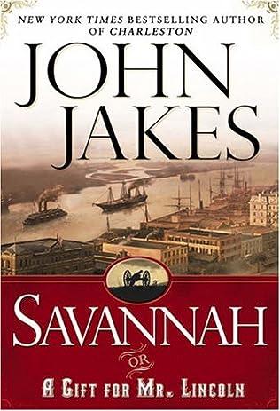 book cover of Savannah