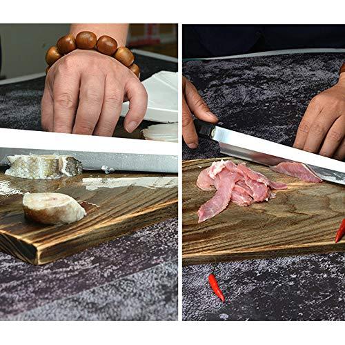 Japanese Sushi Sashimi Usuba Knife Carbon steel 10 inch 270mm with knife sheath