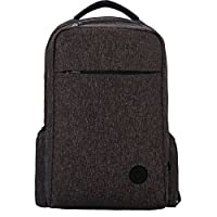 Lekebaby Diaper Bag Backpack for Dad and Mom with Insulated Pockets, Black