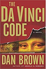 The DaVinci Code by Dan Brown. Hardcover copy with dust jacket. Copyrighted, April 2003. Hardcover
